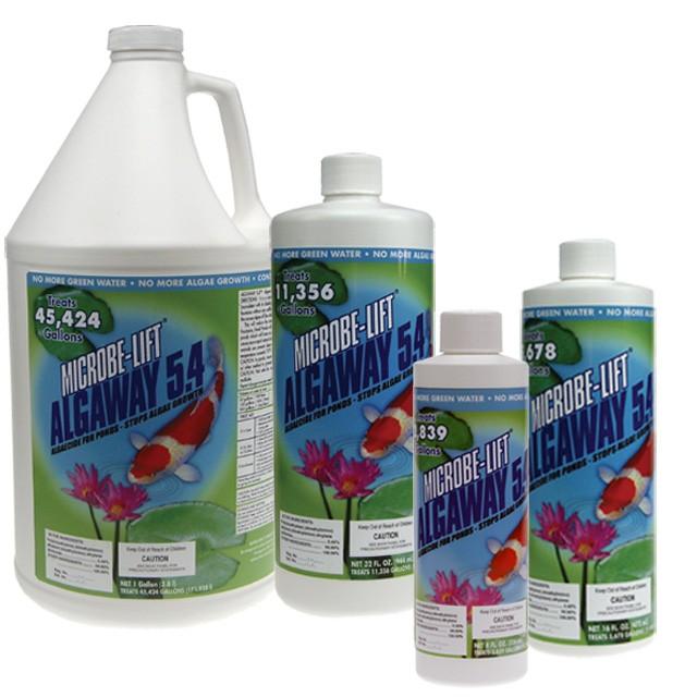 Microbe Lift Algaway 5 4 Algaecide For Ponds Algae Control